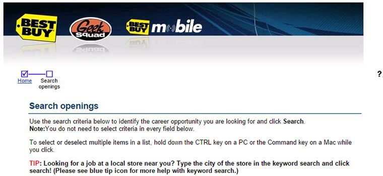 Best buy resume application zone®