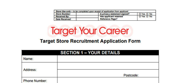 target pdf application