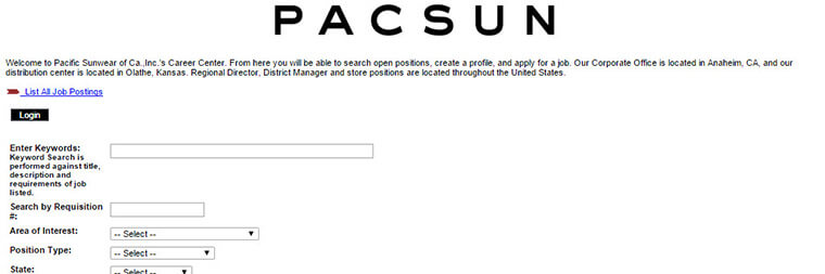 PacSun Application | Online Form & Job Interview Tips