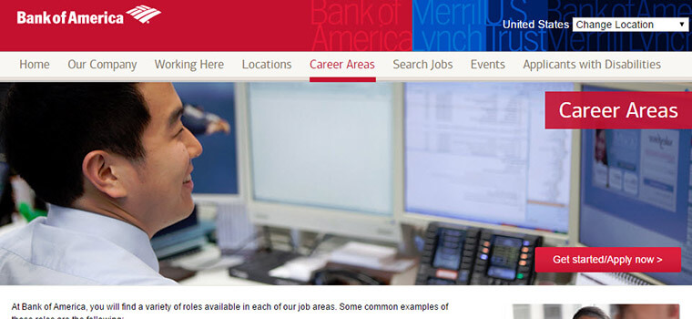 bank of america careers
