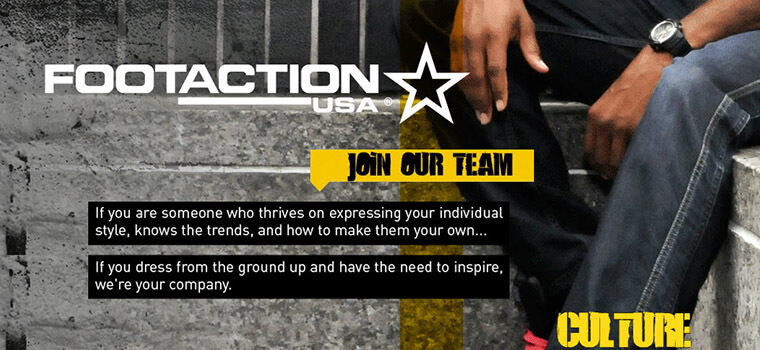 footaction job application