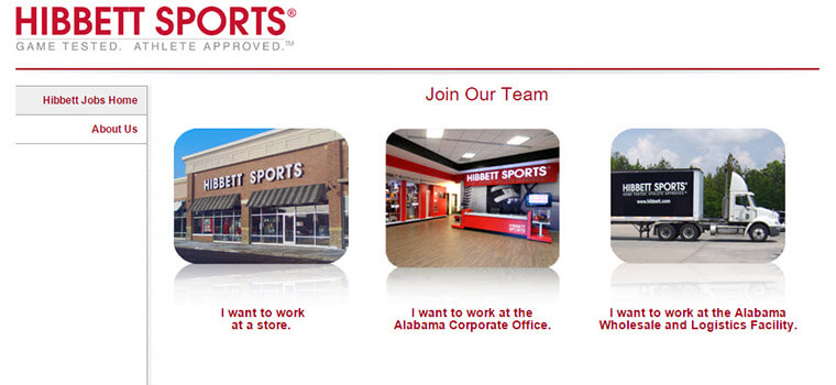 hibbett sports job application