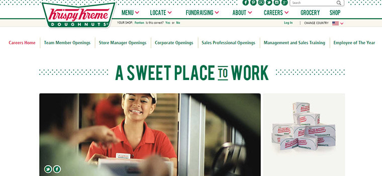 krispy kreme job application