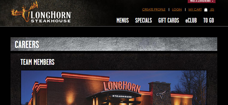 longhorn steakhouse careers