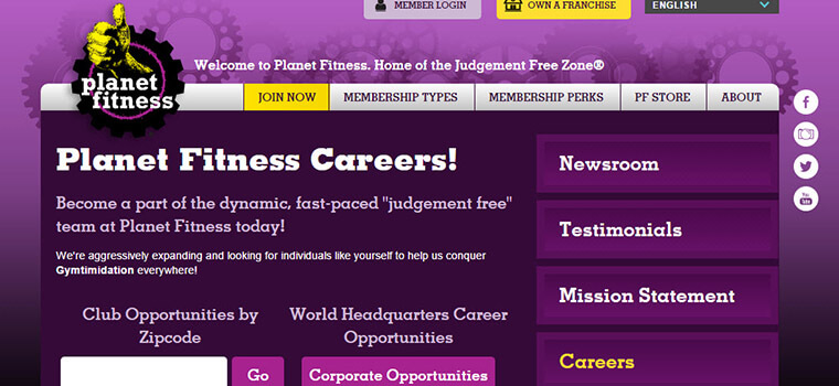 Planet Fitness Application 2019 Careers Job Requirements Interview