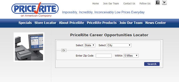 pricerite careers
