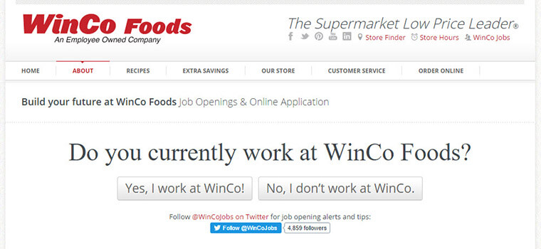winco job application
