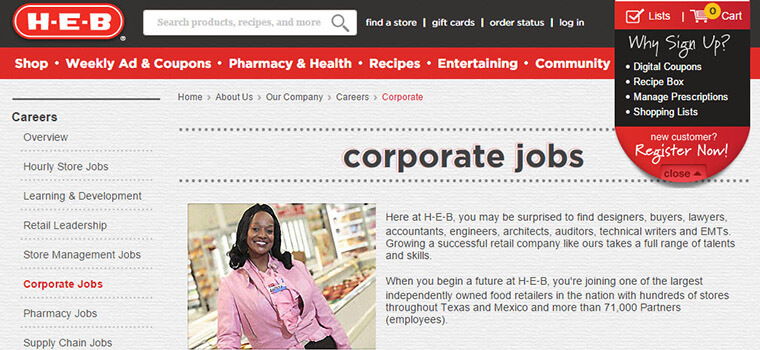 HEB Application | 2019 Careers, Job Requirements & Interview