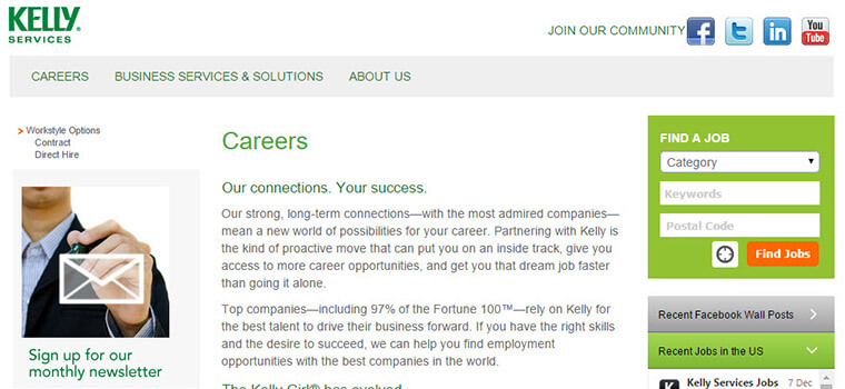 kelly services careers