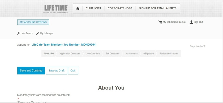 Life Time Fitness Application | 2018 Job Requirements & Interview