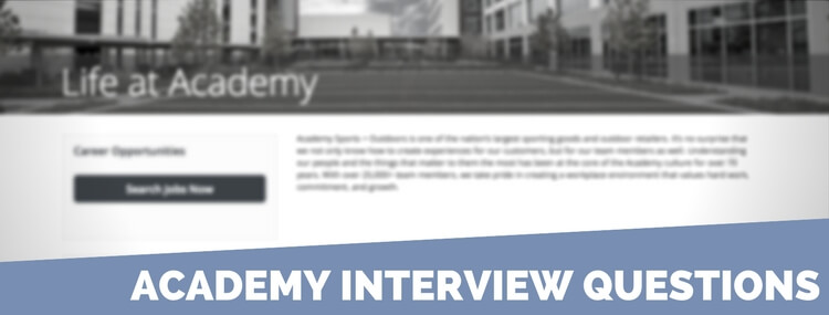 academy interview questions