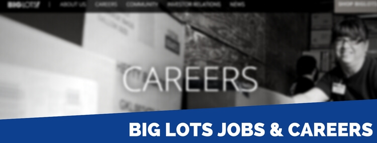 big lots jobs and careers