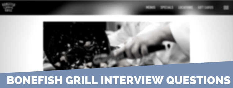 bonefish grill interview questions