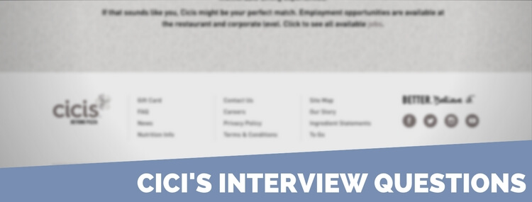 cici's interview questions