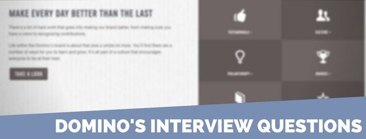 domino's interview questions