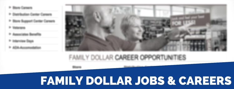 family dollar careers