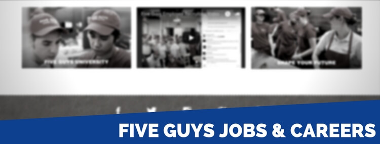 five guys jobs