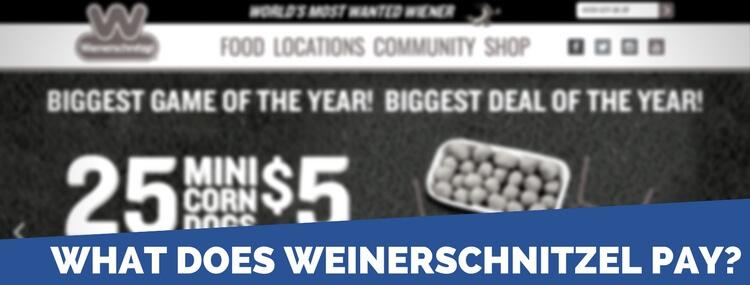 weinerschnitzel pay