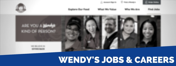 wendy's careers