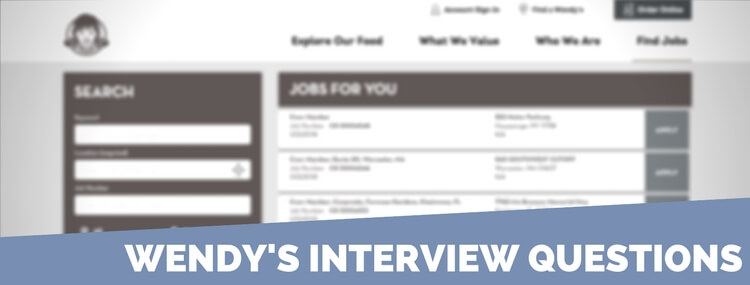 Wendys Application 2018 Careers Job Requirements Interview