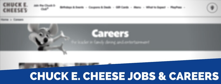 Chuck E Cheese Application 2019 Careers Job Requirements