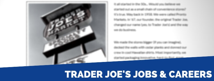 Trader Joe's Careers