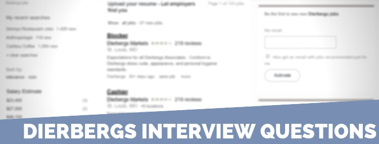 Dierbergs Interview Questions
