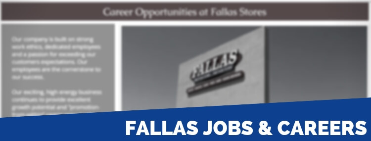Fallas Careers