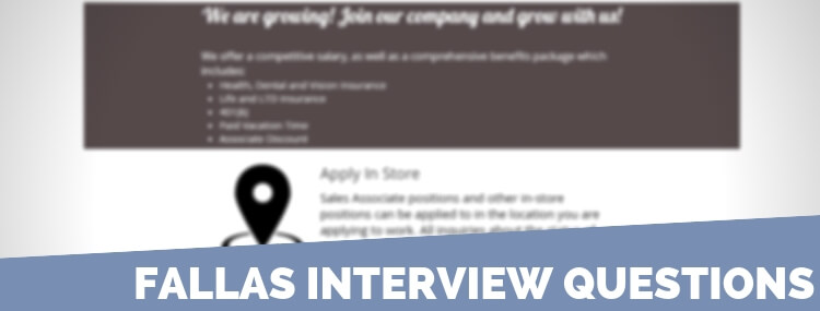 Fallas Interview Questions