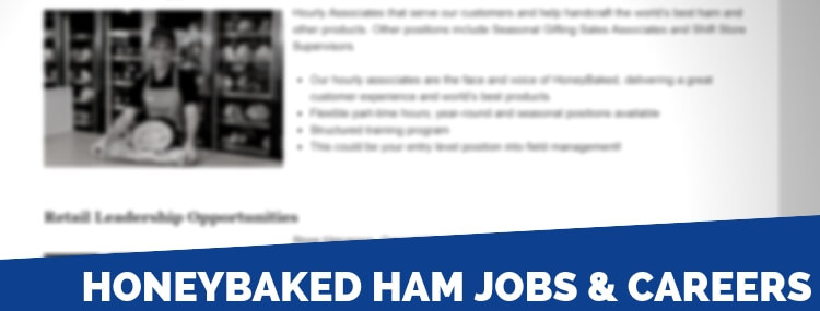 HoneyBaked Ham Careers