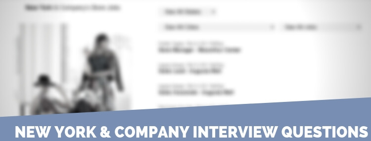New York & Company Interview Questions