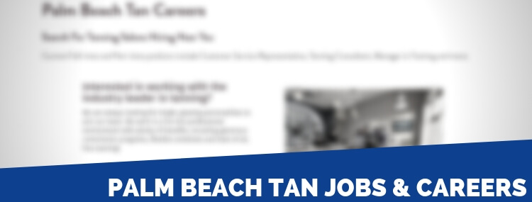 Palm Beach Tan Careers
